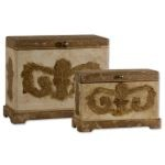 Scotty Collection Wood Boxes, (Set of 2) 19319