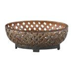 Teneh Collection Lattice Weave Design Bowl 19539