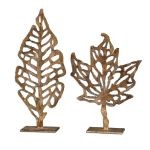Hazuki Collection Metal Sculpture, (Set of 2) 19583