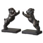 Bulldogs Collection Cast Iron Bookends, (Set of 2) 19643