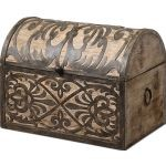 Abelardo Collection Rustic Wooden Box 19709
