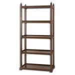 Brearly Collection Wood Etagere 24126