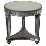 Sinley Collection Mirrored Accent Table 24235