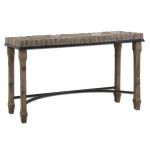 Tehama Collection Antique Wood Console Table 24266