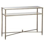 Henzler Collection Mirrored Glass Console Table 24278