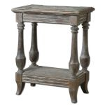 Mardonio Collection Distressed Side Table 24295