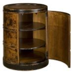 Lawton Collection Storage Drum Table 25522