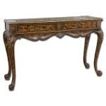 Irina Collection Antique Console Table 25564