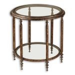 Leilani Collection Round Accent Table 26011