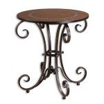 Lyra Collection Round Accent Table 26111