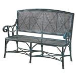 Generosa Collection Forged Iron Bench 26126