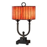 "Bellevue Collection 2-Light 28"" Oil Rubbed Bronze Table Lamp 26432-1"