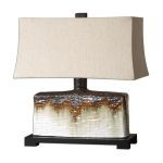 "Adelanto Collection 1-Light 22"" Ceramic Table Lamp 26455-1"