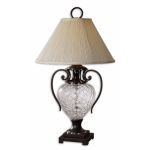 "Sturbridge Collection 1-Light 32"" Glass Table Lamp 26755"
