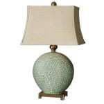 "Destin Collection 1-Light 28"" Ceramic Table Lamp 26807"