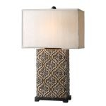 "Curino Collection 1-Light 30"" Golden Bronze Table Lamp 26829-1"