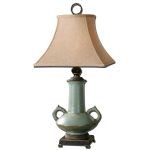 "Vamano Collection 1-Light 32"" Antlque Table Lamp 26853"