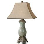 "Andelle Collection 1-Light 31"" Light Blue Table Lamp 27395"