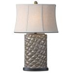 "Armando Collection 1-Light 30"" Gray Table Lamp 27401"