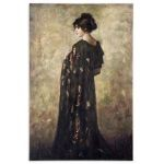 Contemplation Lady Collection Canvas Wall Art 32197
