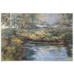 Lake James Collection Hand Painted Wall Art 32200