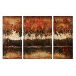 Trilakes Collection Canvas Art (Set of 3) 34207
