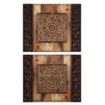 Ornamentational Block Collection Art (Set of 2) 51054