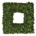 Preserved Boxwood Collection Square Wreath 60109