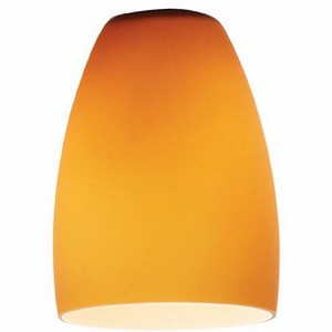 "Cone Collection 4"" Amber Glass Shade 969ST-AMB"