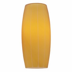 "Pearl Collection 4"" Amber Glass Shade 970GG-AMB"