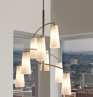 Feiss 8 - Light Coddington Chandelier - F2950/8BS