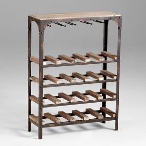 Gallatin Wine Rack 04978