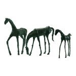 Walking Horse Sculpture 00433