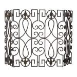 Wrought Iron Fire Screen 00769