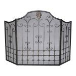 Bronze Fire Screen 01349