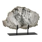 Large Petrified Wood On Stand 02600