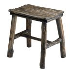 Vintage Wooden Stool 04064