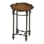 English Oval Side Table 04096