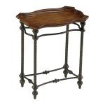 English Rectangle Side Table 04097