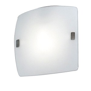 "Aero Collection 1 Light 9"" Matte Nickel Wall/Ceiling Light 83241A"
