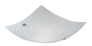 "Aero Collection 2 Light 16"" Matte Nickel Wall/Ceiling Light 83243A"