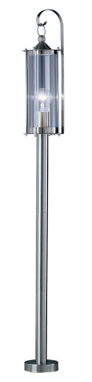 "Cornwall Collection 1 Light 45"" Stainless Steel Floor Lamp 83786A"