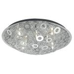 "Cromer Collection 12 Light 19"" Chrome Wall/Ceiling Light 90149A"