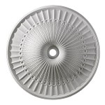 "Hillspire Collection 51"" White Ceiling Medallion M1017WH"
