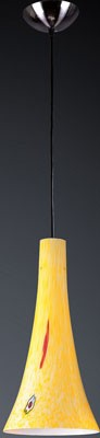 140-1YW - Tromba Collection - 1 Light Pendant