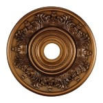 "Laureldale Collection 21"" Antique Bronze Ceiling Medallion M1004AB"