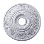 "Laureldale Collection 21"" White Ceiling Medallion M1004WH"