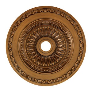 "Brookdale Collection 30"" Antique Bronze Ceiling Medallion M1008AB"