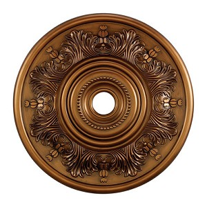 "Laureldale Collection 30"" Antique Bronze Ceiling Medallion M1014AB"