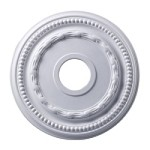 "Campione Collection 16"" White Ceiling Medallion M1001WH"